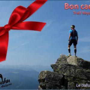 Bon cadeau trail voyage