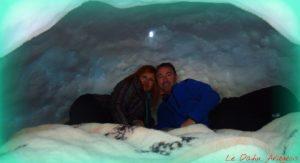 Nuit en igloo Arièege Pyrenees
