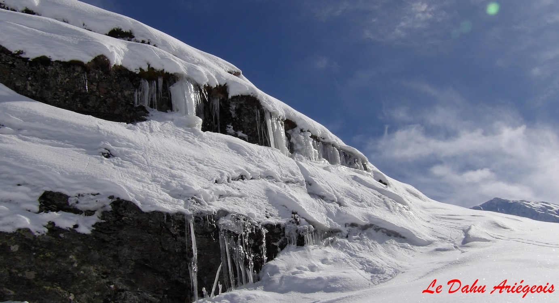 Raquettes à neige - Barrage Izourt - 1