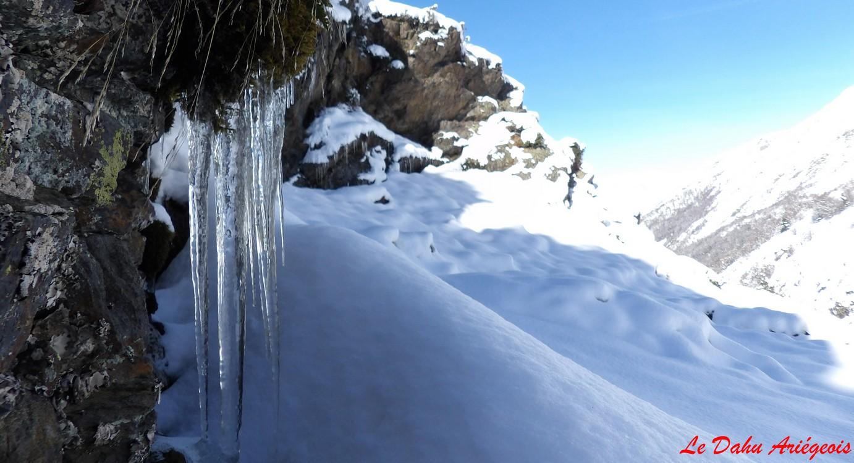 Raquettes à neige - Barrage Izourt - 3