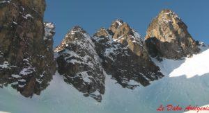 Raquettes à neige - Pic Néouvielle - Pyrénées