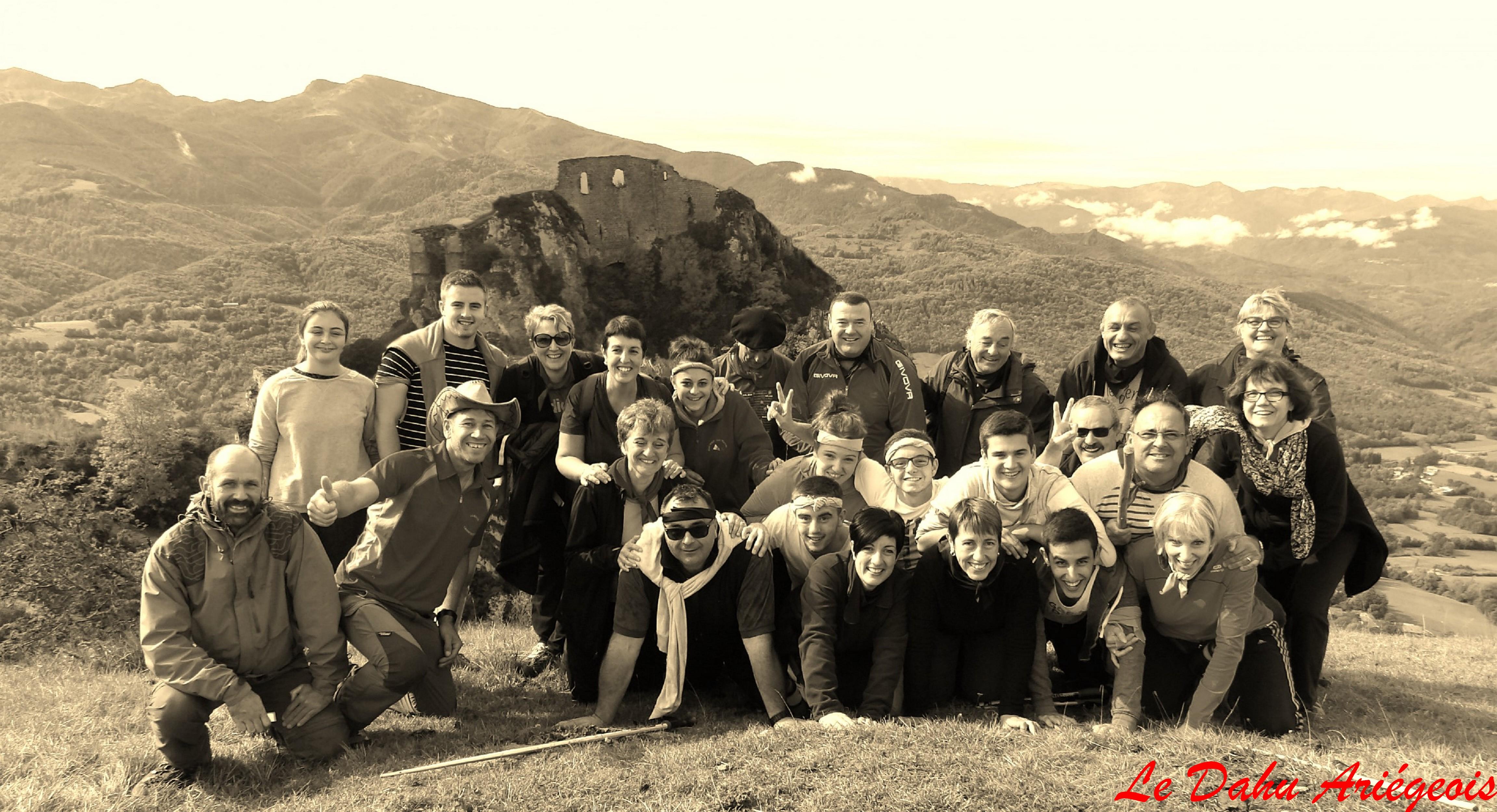 CHasse au tresor Ariège - Cathare 1