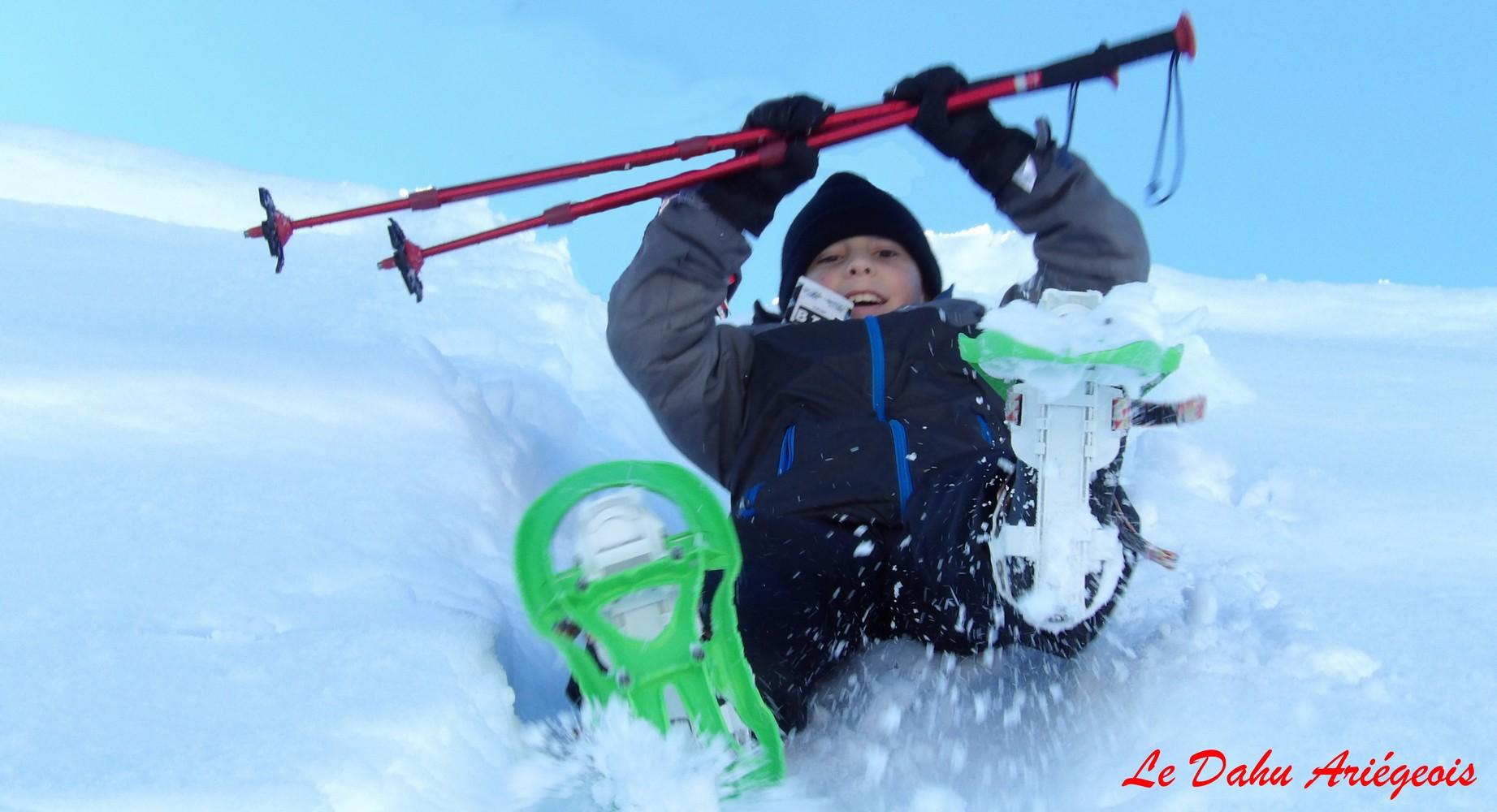 Raquettes a neige - Enfant Ariege 5