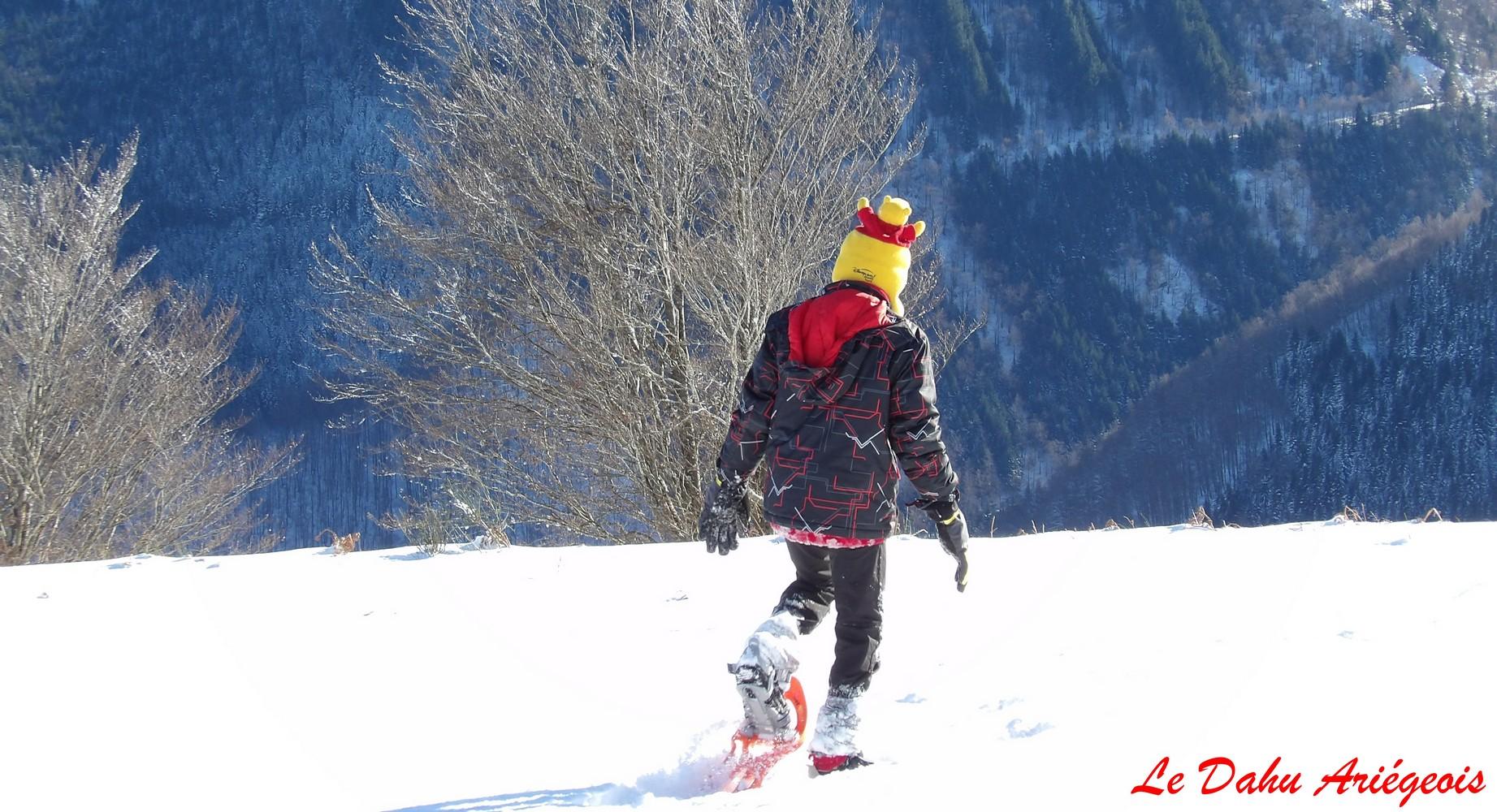 Raquettes a neige - Enfnat Ariege 6