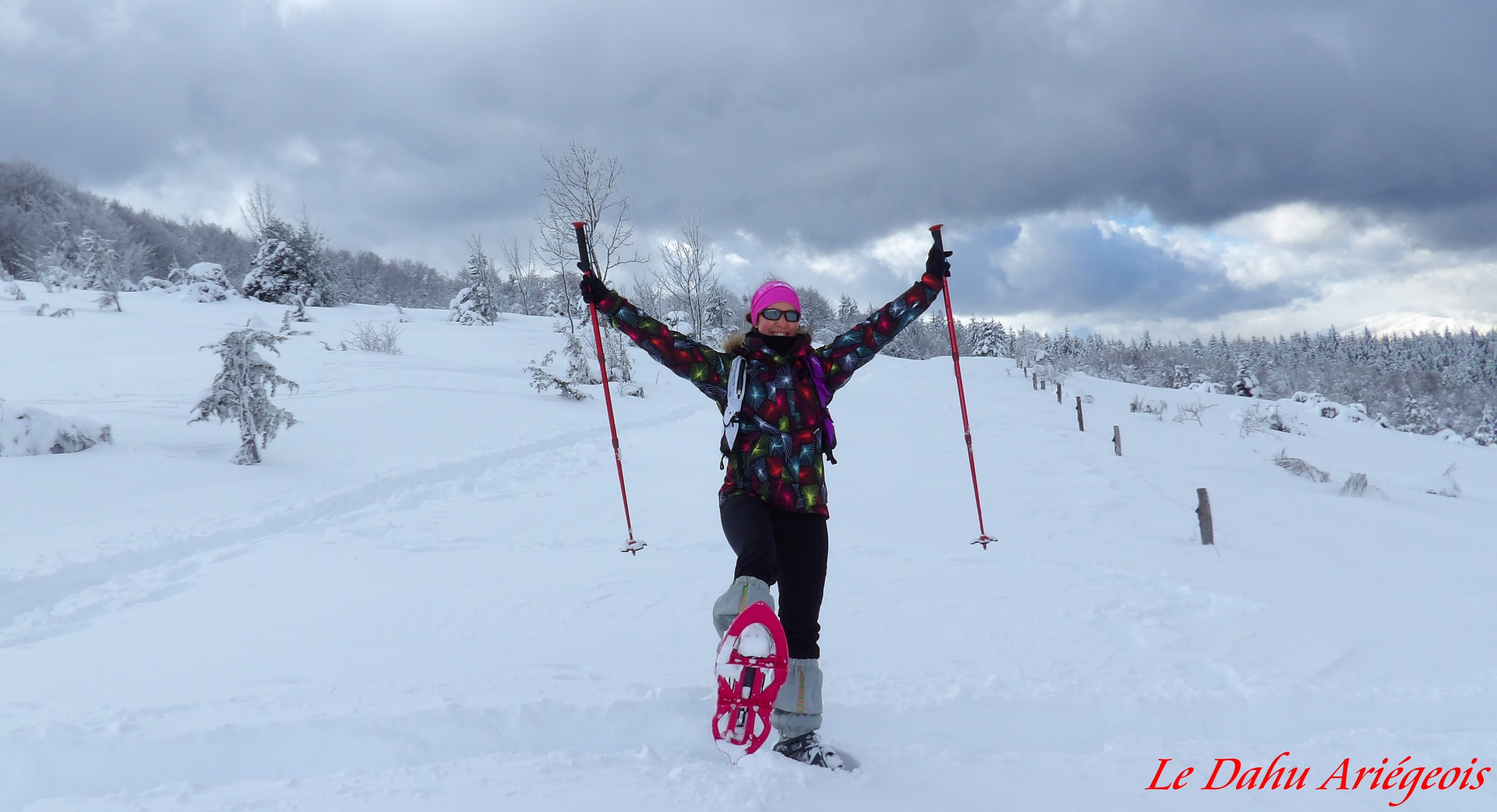 Raquettes a neige - Ariege 1