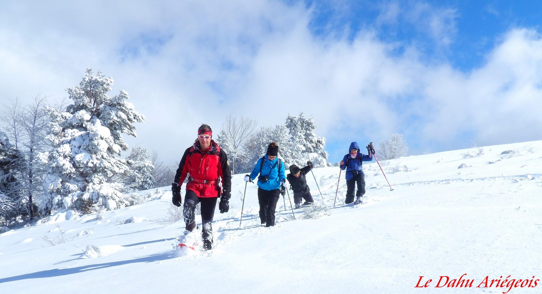 Raquettes a neige - Ariege 3