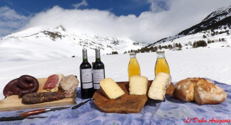 restaurant vue panoramique sur les Pyrénées