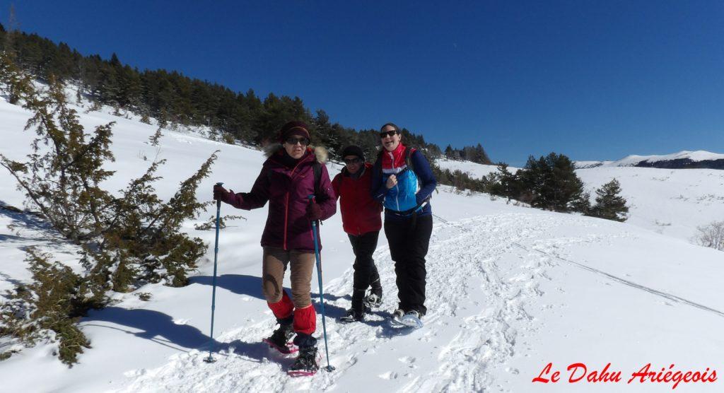 Raquettes a neige - Non-voyants Chioula - 02
