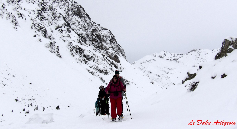 Séjour raquettes neige Gavarnie - Valée de Coubousse