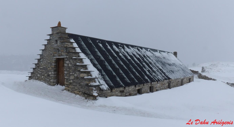 Séjour raquettes neige Gavarnie - Grange plateau Sausset