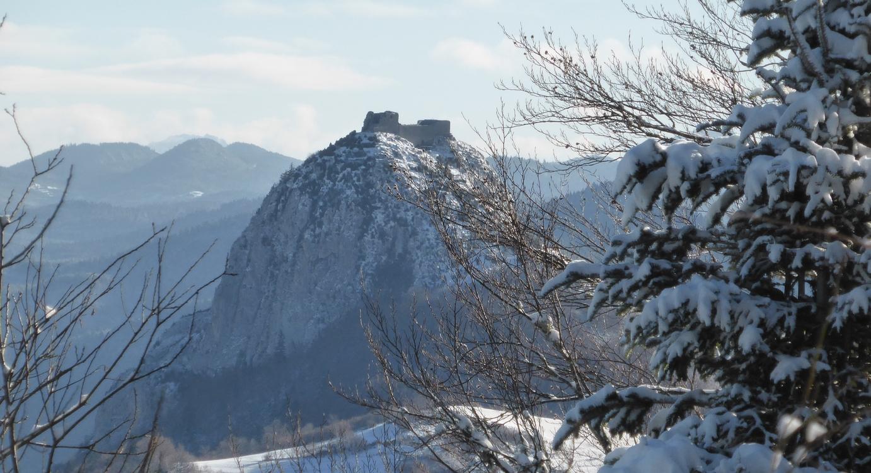 Pog Montségur hiver