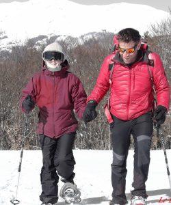 guide montagne pour aveugle